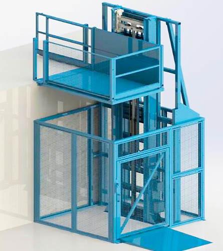 MDL-I goods lift