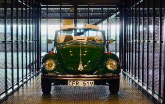 VW dans l'ascenseur