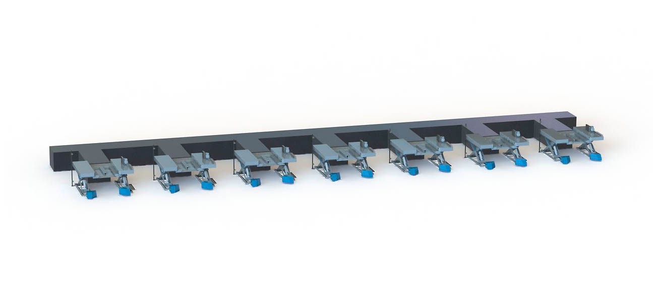 Platzsparende Lösung mit UXB Narrow
