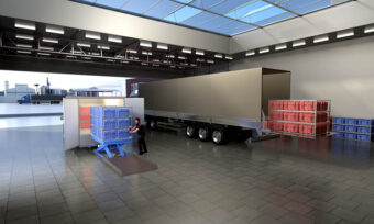 Orders are transferred from truck to EV